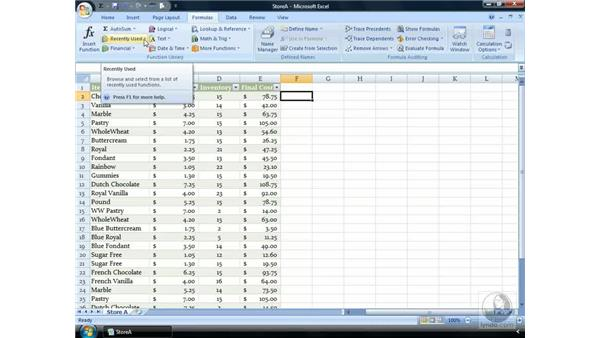 What are Functions?: Excel 2007 Essential Training
