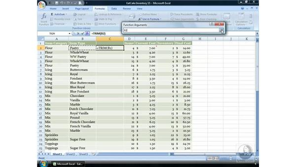 Trim: Excel 2007 Essential Training