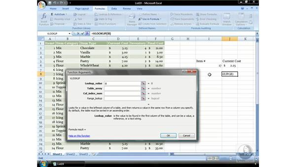 Lookup: Excel 2007 Essential Training