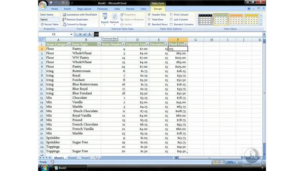 Reviewing a workflow in Excel: Excel 2007 Essential Training
