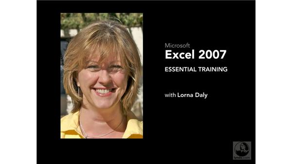 Conclusion: Excel 2007 Essential Training
