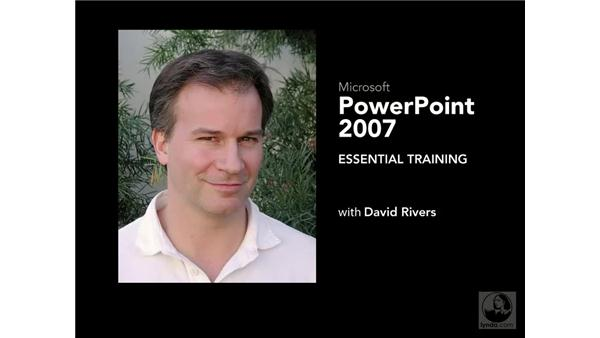 Goodbye: PowerPoint 2007 Essential Training