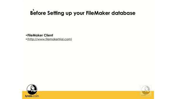 Before creating a FileMaker database: Flash 8 and FileMaker 8.5 Integration
