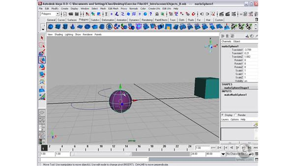 Grids and snapping: Maya 8 Essential Training