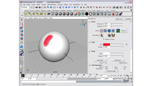 3D paint: Maya 8 Essential Training