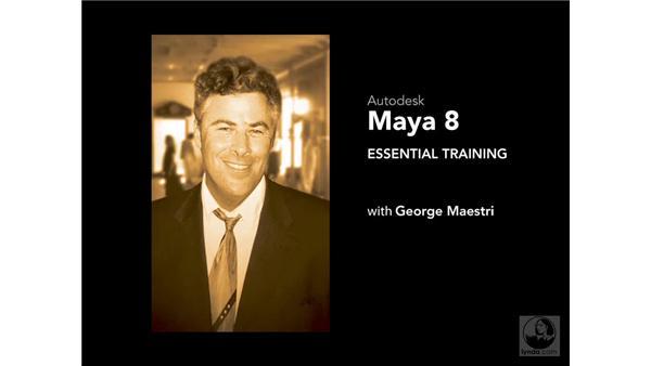 Goodbye: Maya 8 Essential Training