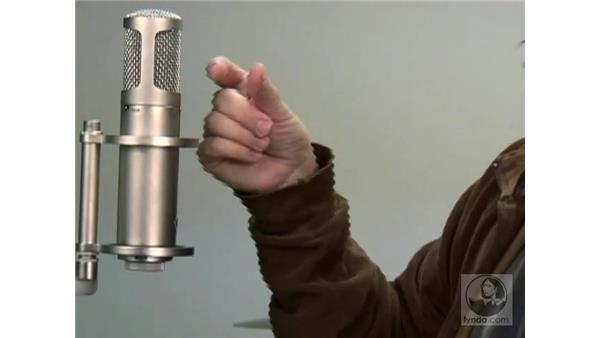 Miking vocals: Digital Audio Principles