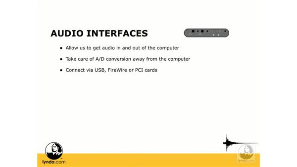 What is an I/O device?: Digital Audio Principles