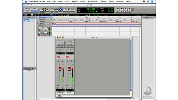 Input levels: Digital Audio Principles