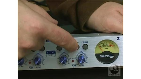 Preamp demo: Digital Audio Principles