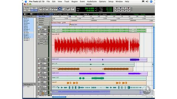 The Edit/Arrange window: Digital Audio Principles