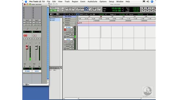 Assigning inputs and getting signals: Digital Audio Principles