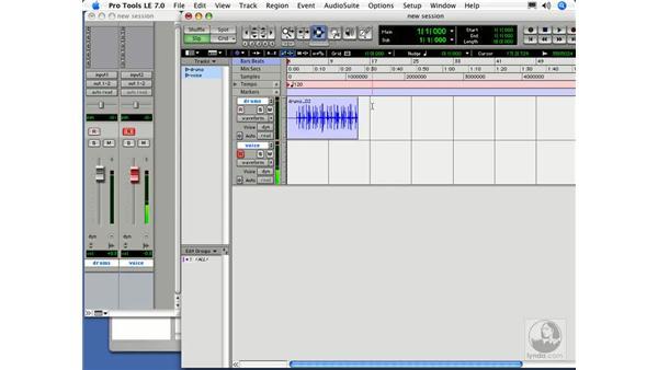 Input modes: Digital Audio Principles