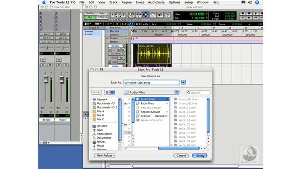 Bouncing down: Digital Audio Principles