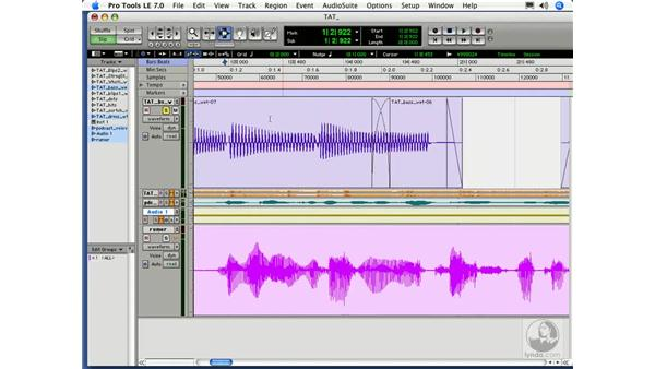 Fades and automation: Digital Audio Principles