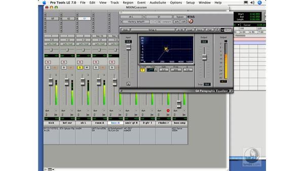 A quick mixing demo: Digital Audio Principles
