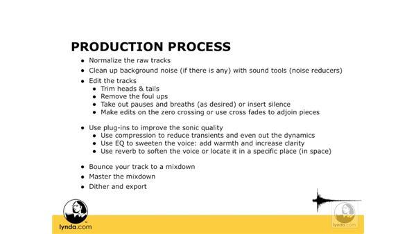 The voice production process: Digital Audio Principles