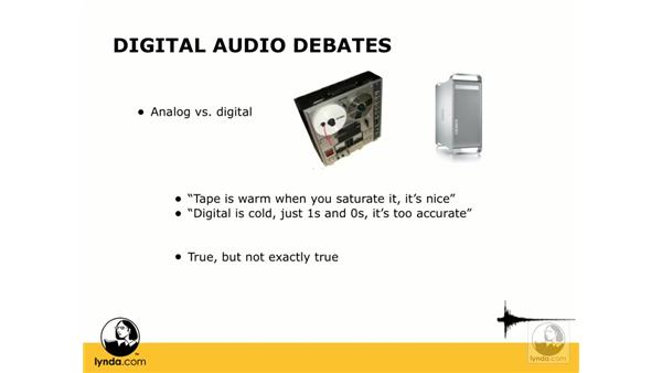 Analog vs. digital: Digital Audio Principles