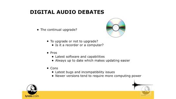 The continual upgrade: Digital Audio Principles