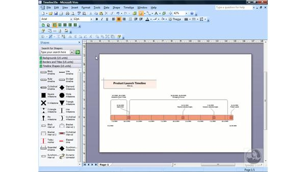 Showing and hiding page breaks: Visio 2007 Essential Training
