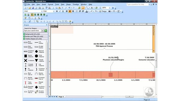 Using the Pan & Zoom window: Visio 2007 Essential Training