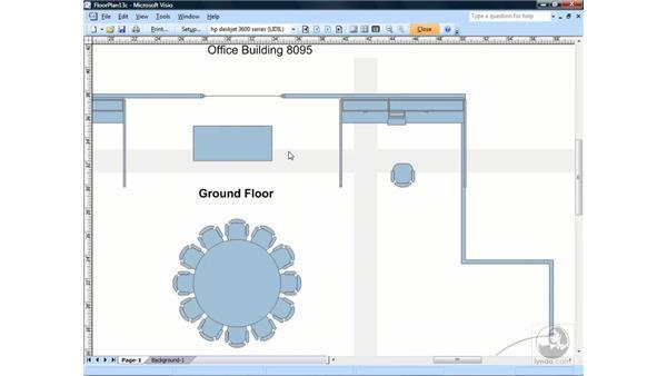 Using Print Preview: Visio 2007 Essential Training