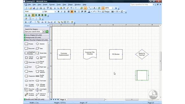 Creating A Basic Flowchart