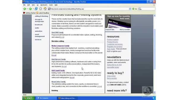 Different versions of Avid: Avid Xpress Pro 5.5 Essential Editing