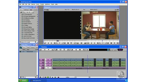 Planning your story: Avid Xpress Pro 5.5 Essential Editing