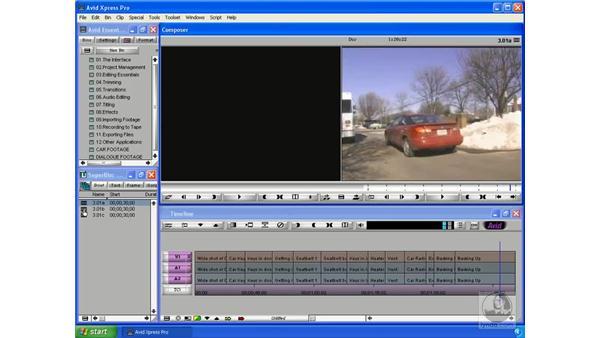 Start : Avid Xpress Pro 5.5 Essential Editing