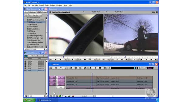 Setting the snapping behavior: Avid Xpress Pro 5.5 Essential Editing