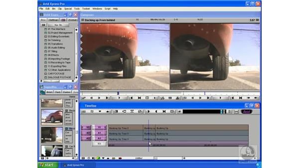 The three-point edit: Avid Xpress Pro 5.5 Essential Editing