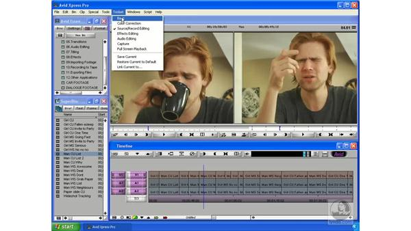 Trim mode overview: Avid Xpress Pro 5.5 Essential Editing