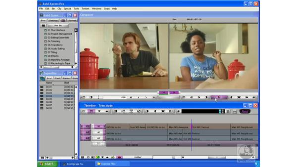 Overlapping picture and sound: Avid Xpress Pro 5.5 Essential Editing
