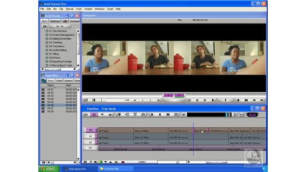 Slip edits: Avid Xpress Pro 5.5 Essential Editing