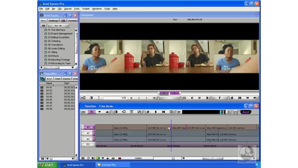Slide edits: Avid Xpress Pro 5.5 Essential Editing