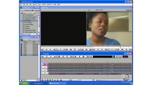 Fixing audio that has slipped out of sync: Avid Xpress Pro 5.5 Essential Editing