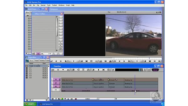 Using Effects presets: Avid Xpress Pro 5.5 Essential Editing