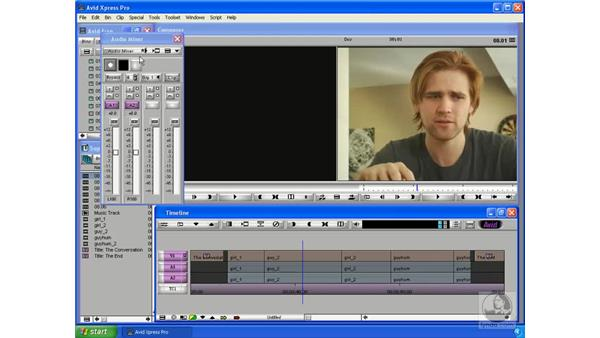 Using the Audio Control panel: Avid Xpress Pro 5.5 Essential Editing