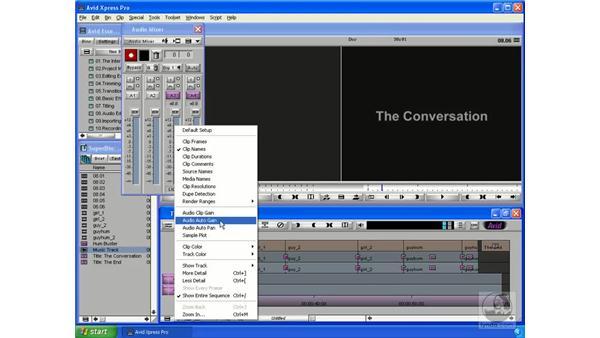 Adding music: Avid Xpress Pro 5.5 Essential Editing