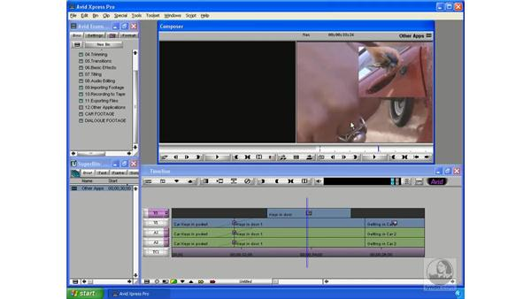 Differences from other NLE systems: Avid Xpress Pro 5.5 Essential Editing