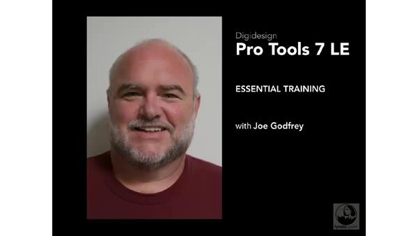 Welcome: Pro Tools 7 LE Essential Training