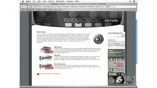 Versions of Pro Tools: Pro Tools 7 LE Essential Training