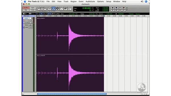 Using the Smart Tool: Pro Tools 7 LE Essential Training