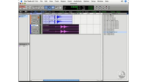 Exporting: Pro Tools 7 LE Essential Training