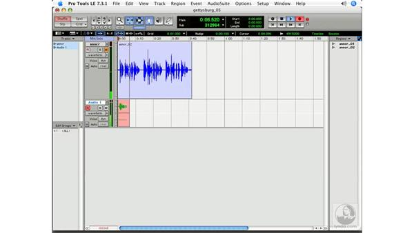 The wrong way to do it: Pro Tools 7 LE Essential Training