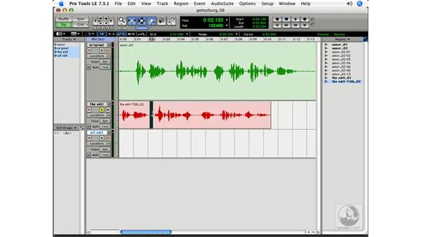 The Time Compression Trimmer: Pro Tools 7 LE Essential Training