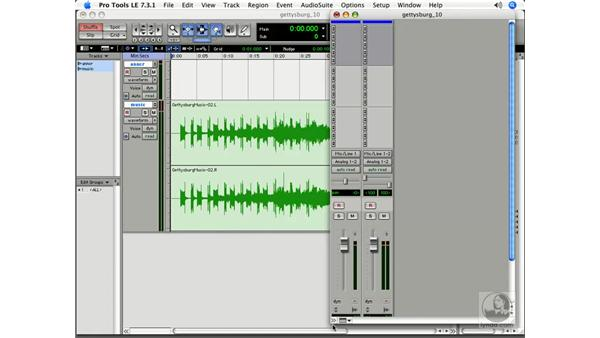 The additive power of music: Pro Tools 7 LE Essential Training