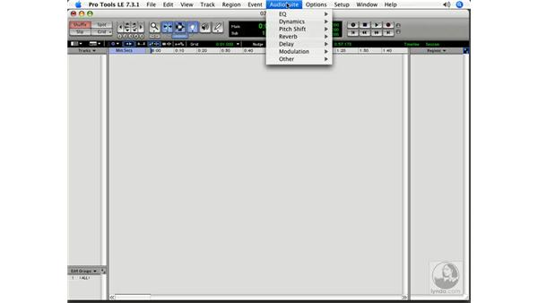 What is a plug-in?: Pro Tools 7 LE Essential Training