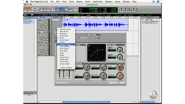 Compression: Pro Tools 7 LE Essential Training